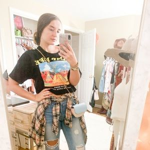 Forever 21 Crop Tee - Small